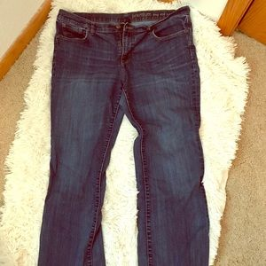 Gap Long & Lean Jeans.  Size 16